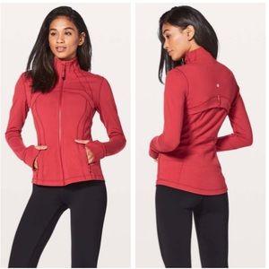 Lululemon Define Jacket in Persian Red